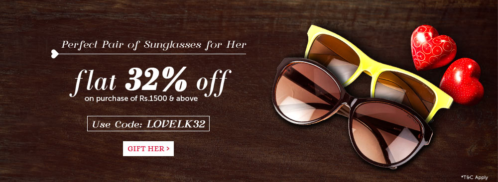Sunglasses - Flat 32% Off