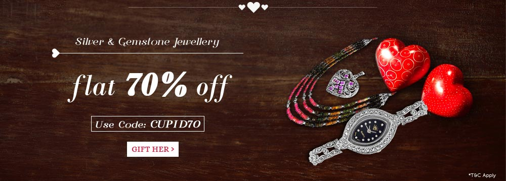 Silver - Flat 70% Off