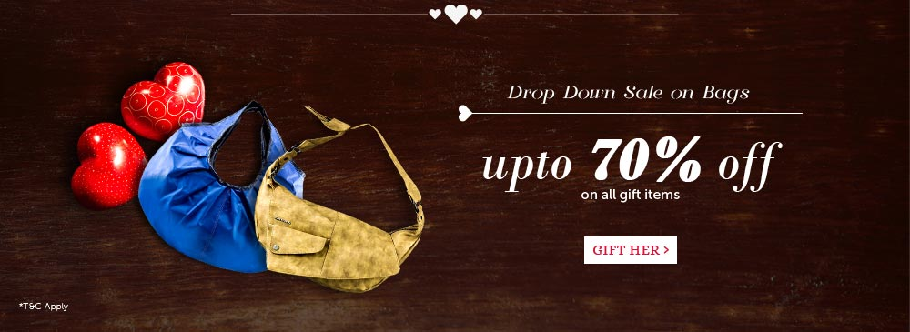 Bags - Upto 70% Off