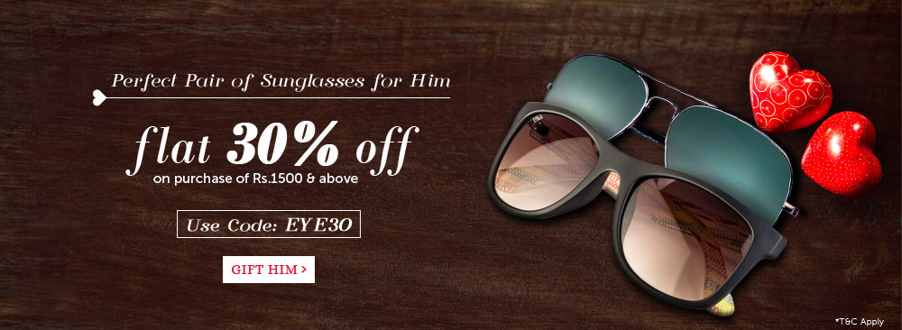 Sunglasses - Flat 30% Off