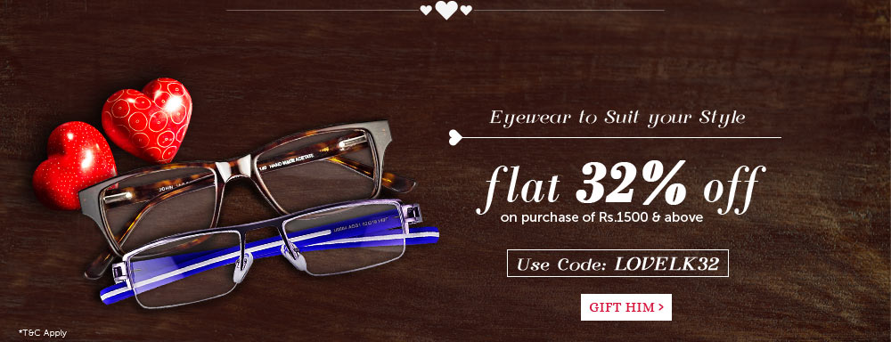 Eyeglasses - Flat 32% Off